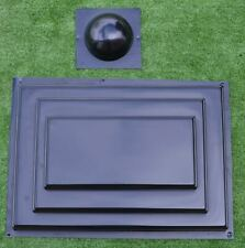 Concrete Mold Pier Caps Fence Capping 17.71x12.20in(450x310mm) ABC plasticP19