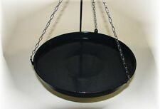 Frying pan 34cm for Three leg-Grill Sausage skillet Grillpan Fire bowl