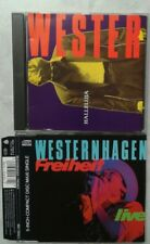 WESTERNHAGEN Hallelujah HALLELUJA + freiheit LIVE maxi single   2 CD's GERMAN