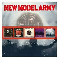 NEW MODEL ARMY Original Album Series (2014) Reissue Remastered 5-CD NEW/SEALED