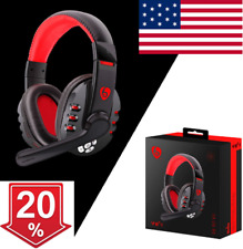 Wireless Gaming Headset with Mic Surround For PC Laptop US HOT SELL