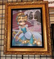 Epcot Festival Arts Disney Cinderella Leaving Ball Becket-Griffith Framed Canvas