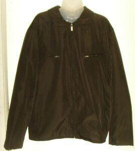 Men's XL black full zip jacket (Pierre Cardin)