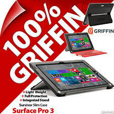 Griffin Survivor Slim Protective Tablet Case Cover for MicroSoft Surface Pro 3