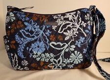 Vera Bradley On the Go Crossbody Shoulder Bag Purse in Java Floral