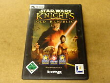 4-DISC PC GAME / STAR WARS: KNIGHTS OF THE OLD REPUBLIC (CD-ROM)