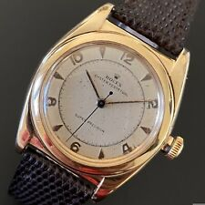 Rolex Oyster Perpetual Bubbleback Rose gold ref. 3131 - Two Tone Dial