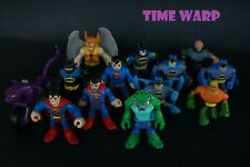 DC IMAGINEXT FIGURE LOT * INCLUDES BATMAN, CATWOMAN'S CAT-CYCLE, HAWKMAN, CROC