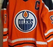 Connor McDavid Edmonton Oilers Jersey Size Mens Large