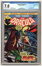 Tomb of Dracula 10 (CGC 7.0) 1st app. Blade the Vampire Slayer 1973 Marvel C801