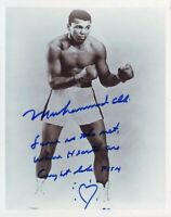 Muhammad Ali 8x10 Inscribed HOF Signed Photo Autographed REPRINT