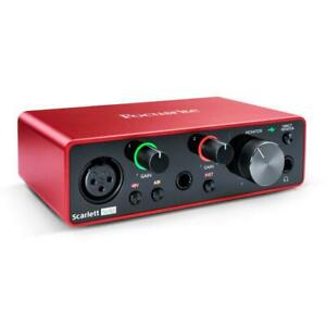 Focusrite Scarlett Solo 3rd Generation USB Audio Interface