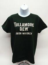 Women's Large Gildan Tullamore Dew Irish Whiskey Short Sleeve Green T-Shirt