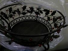PartyLite Holly Lites 3-Wick Holder - Base ~ Retired - P9904B ~ New in box