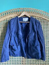 ISABEL MARANT light Jacket Coat Shacket Blue Size 3 Fits Size 6 - 10