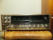 SANSUI >QRX 5500< FM/AM QUADRAPHONIC STEREO RECEIVER & WORKS GREAT / CLEAN