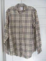 Brooks Brothers 346 plaid shirt size M Men   non iron