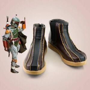 Star Wars Cowboy Bebop Boba Fett Boots Cosplay Shoes Men Boots Customize