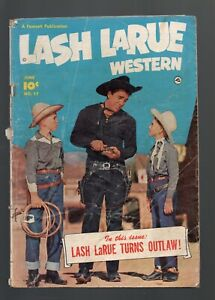 LASH LARUE WESTERN 17      PHOTO COVER
