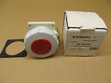 1 NIB MENNEKES ME-330R7W ME330R7W 330R7W RECEPTACLE 30 AMP 480 VAC 2P 3W