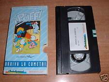 PUFFI  VHS Videocassetta  Una creazione Peyo -  I PUFFI : ARRIVA LA COMETA