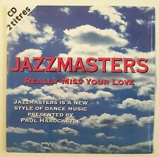 "JAZZMASTERS : REALLY MISS YOUR LOVE (12"" DANCEMIX) ♦ CD SINGLE ♦ Paul Hardcastle"