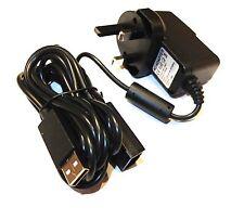 Xbox 360 Kinect Sensor Red fuente de alimentación PSU 3 Pin Enchufe Reino Unido Vendedor