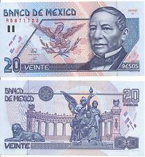 Messico/Mexico - 20 pesos 1994 serie H UNC Pick 106a