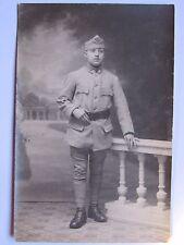 12C1 CPA WWI CARTE POSTALE PHOTO PORTRAIT JEUNE POILU 8 e RI VERS 1916 14/18