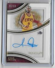 KYLE IRVING 2015/16 IMMACULATE  AUTOGRAPH AUTO #26/60 -CAVALIERS!!