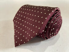 *NWT* Polo Ralph Lauren ITALY Men's Red Dotted Silk Neck Tie $78