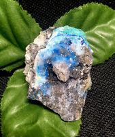 17.5g  RARE SPARKLY BLUE SMITHSONITE CRYSTAL MINERAL SPECIMEN   New Mexico, USA