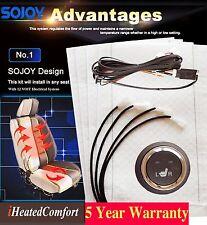 SOJOY - Retrofit Insert Carbon Fiber Seat Heater Kits (2 seats, 4 pcs) NEW