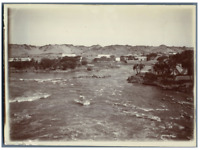 Egypte, Chute d'eau dans le Nil  vintage citrate print Tirage citrate