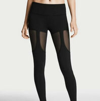 Victoria Secret Sport Knockout Tight Garter Mesh Black Size XL RARE