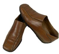 PAUL GREEN MUNCHEN Womens Brown Leather Loafers Driving Shoes US Size 8 UK 5.5
