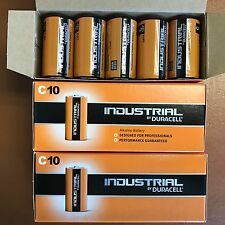 20 x Duracell C Size Industrial Procell Alkaline Batteries LR14 MN1400 BABY 2023