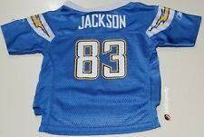 NFL San Diego Chargers V. Jackson #83 Reebok Onfield Mesh Toddler Jersey 18MO