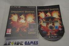 DRAGON'S DOGMA PLAYSTATION 3 PS3 COMPLET (envoi suivi, vendeur pro)