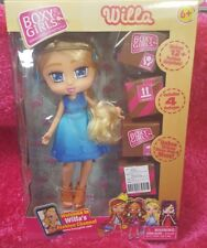Boxy Girls  *  WILLA * 8 inch Doll With 4 Surprise Packages By jay@play NEW 2018