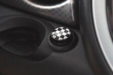 Checker Engine Start Button Emblem FIT Mini cooper S JCW R55 R56 R57 R60 clubman
