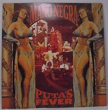 """MANO NEGRA : PUTA'S FEVER Album Vinyl LP 12"""" 33rpm Excellent"""