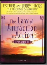Law of Attraction in Action, Teachings of Abraham, Esther Hicks, III, 2-DVD set