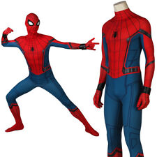 Spiderman tuta adulto RITORNO A CASA Spiderman Uomo Ragno Spandex Body Halloween