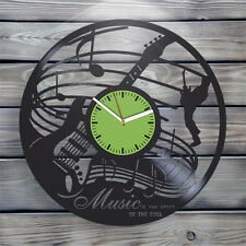 Vinyl Record Wall Clock perfect home decoration Gift ideas for boys and girls