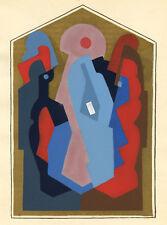 Albert Gleizes rare limited edition pochoir