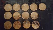 More details for 13 1oz .999 copper coins