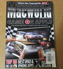 MACWORLD MAGAZINE Feb 2012 Game on Apple - Top 50 Ipad & Iphone Apps Mac World