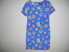 Sag Harbor Womens Size 10 Multi-Color Sheath Dress Short sleeves