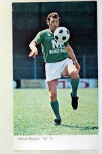 Sport Soccer as Saint Etienne Manufrance Herve Revelli Postcard